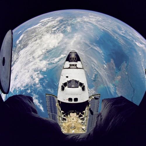 Фото Земли с шатла Атлантис