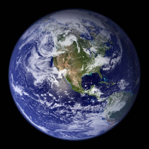 Фотография земли из космоса