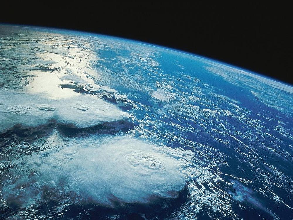 фотография из космоса земли