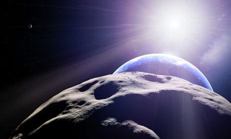Поверхность астероида