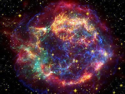взрывы во вселенной