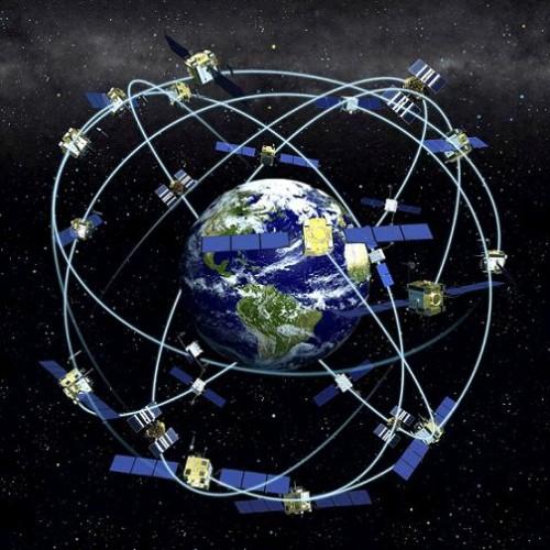 Спутники в реальном времени