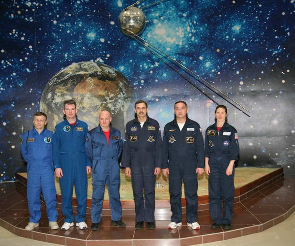 Космонавты на тренировке 6