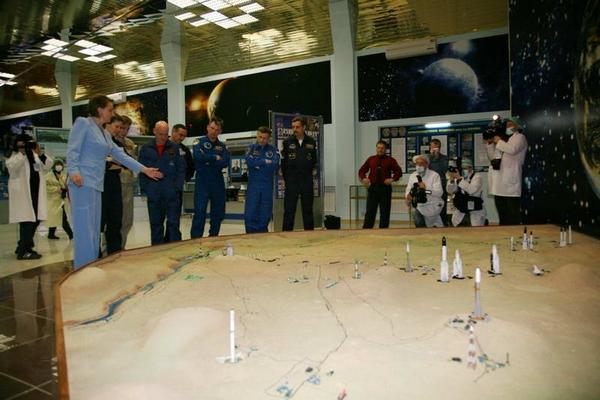 Космонавты на тренировке 7