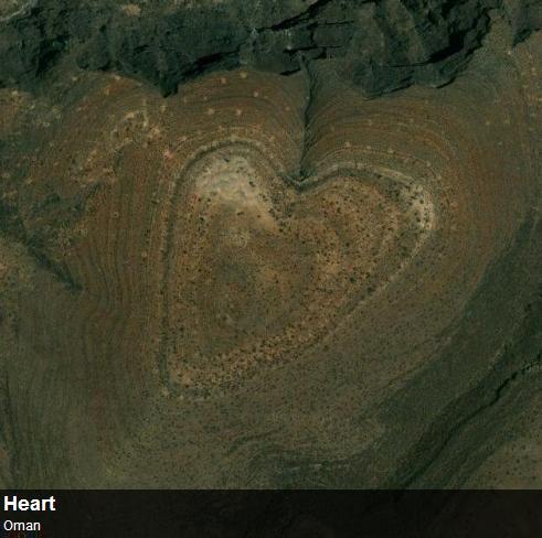Необычные снимки со спутника