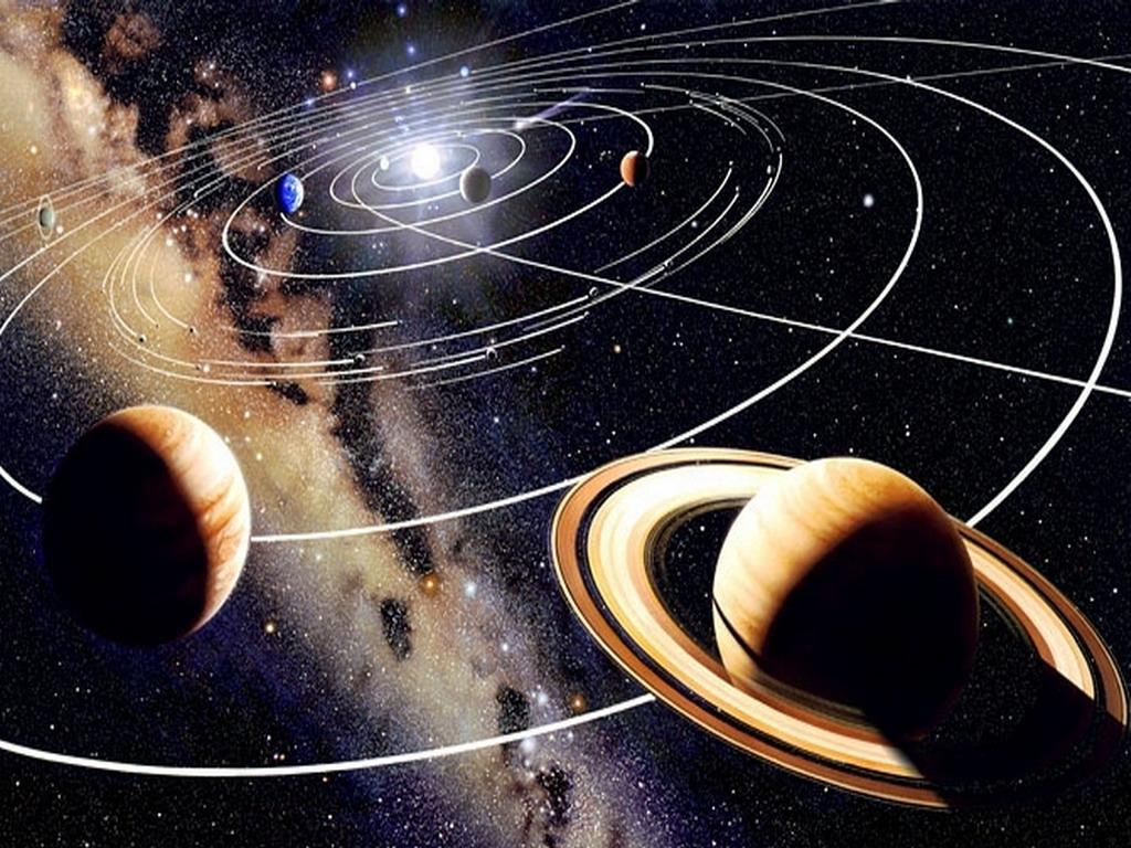 фото орбит планет