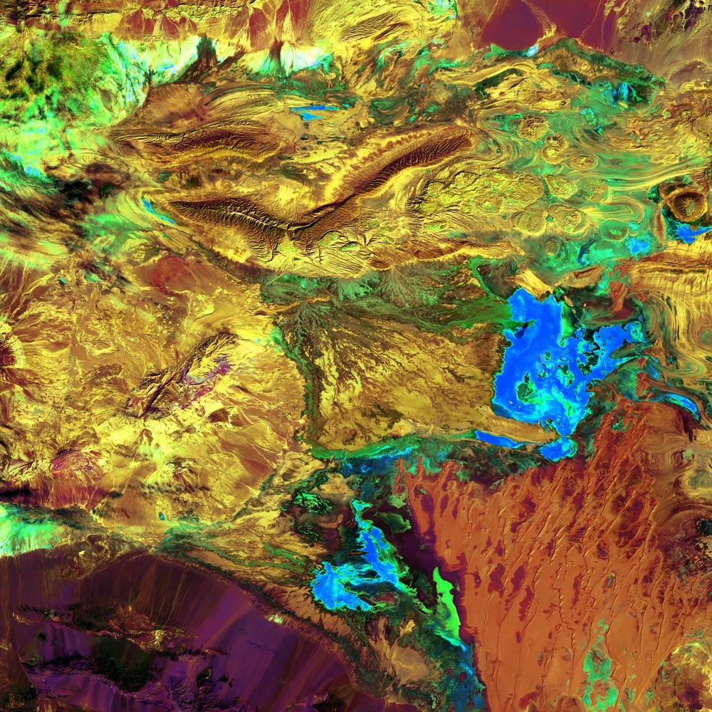 Большая Соляная пустыня Иран