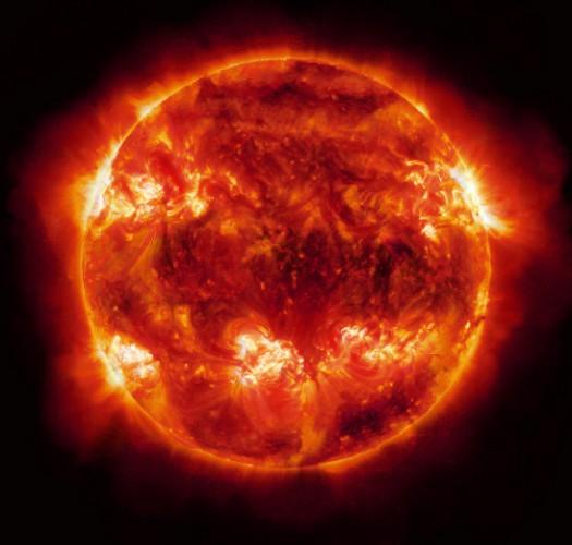 Солнце со спутника