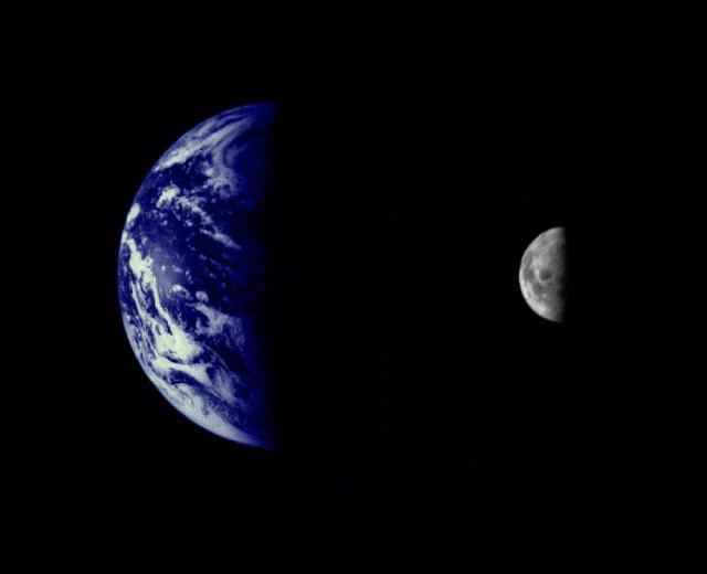 Спутниковая Луна Карта