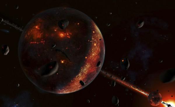 Рождение планеты Земля