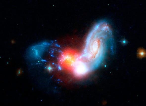 Кто вы галактические кляксы?