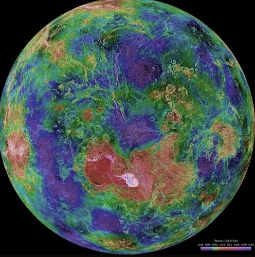 Венера – вторая после Меркурия планета в Солнечной системе