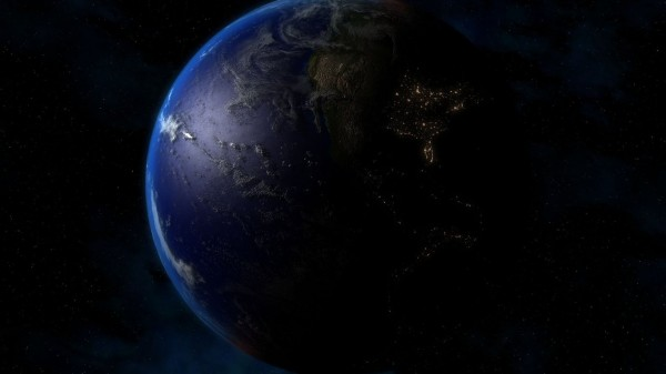 Планета Земля космос