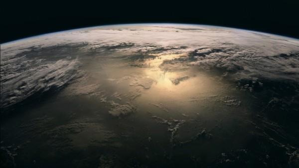 Планета Земля облака