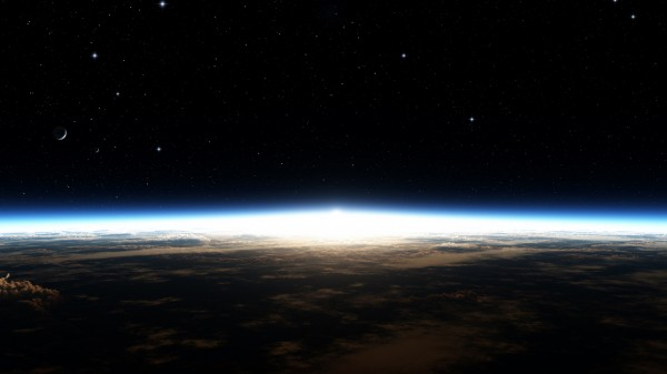 Планета Земля рассвет