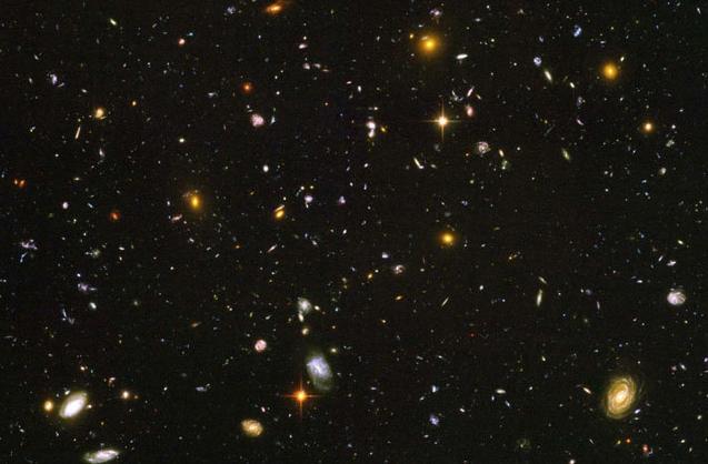 Очень далекие области вселенной