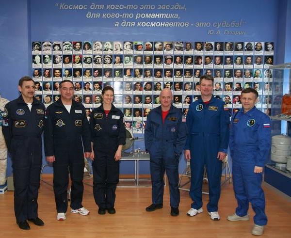 Космонавты на тренировке 3