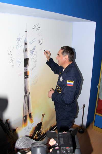 Космонавты на тренировке 4