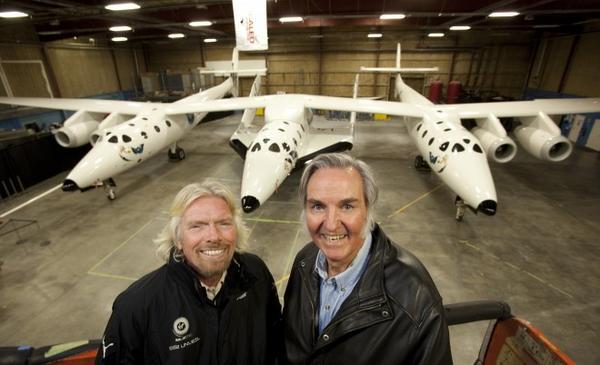 Возглавляемая Ричардом Бренсоном американская компания Virgin Galactic