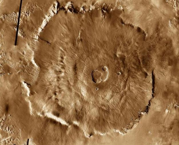 Марс-фото инфракрасное