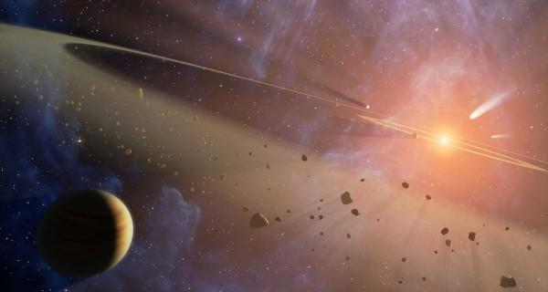 Движение астероидов