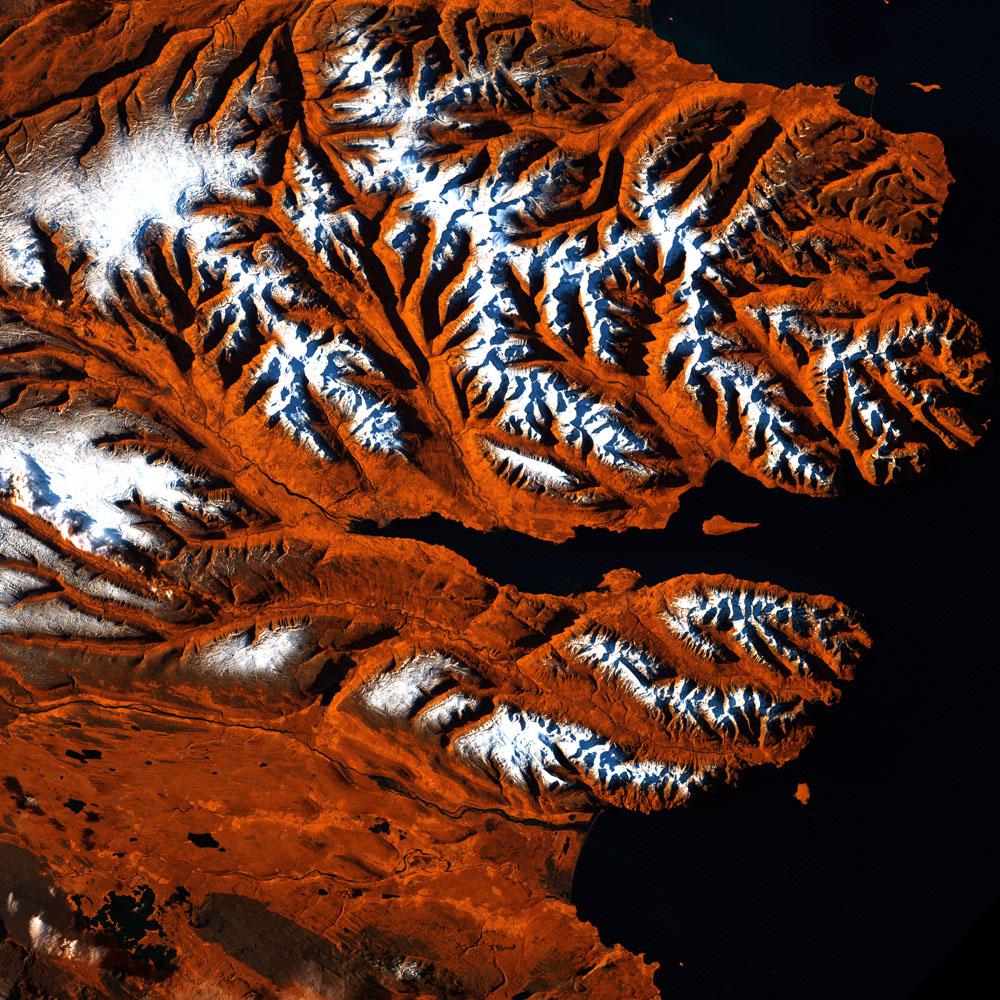 Исландия Eyjafjorour Fjord