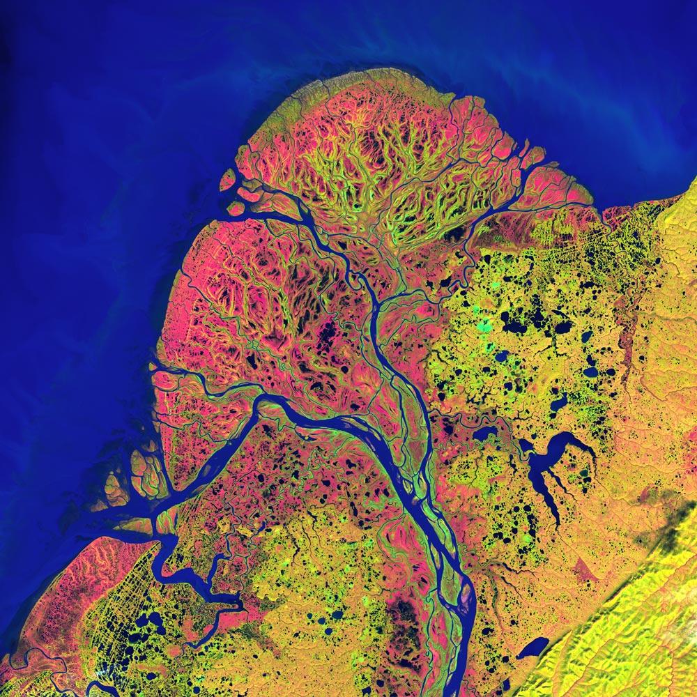 Река Юкон Аляска