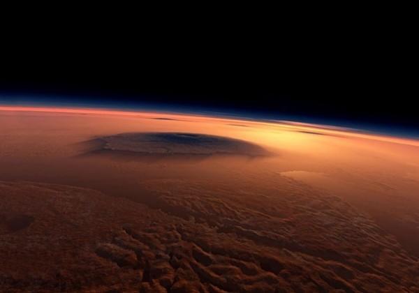 Поезд на Марсе