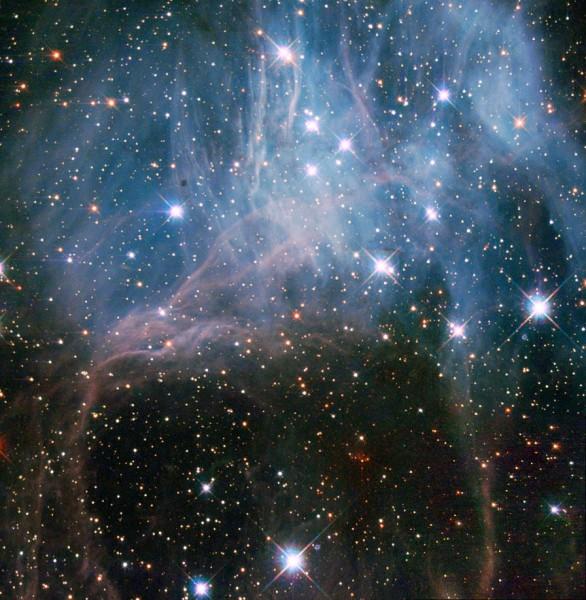 Звездные скопления. Звездная группировка NGC 2040