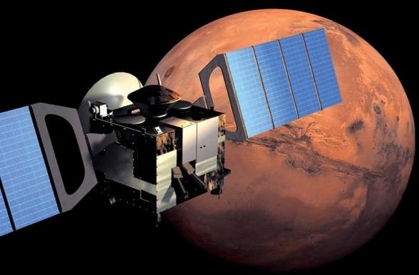 Как посадить тяжелый космический корабль на Марс?