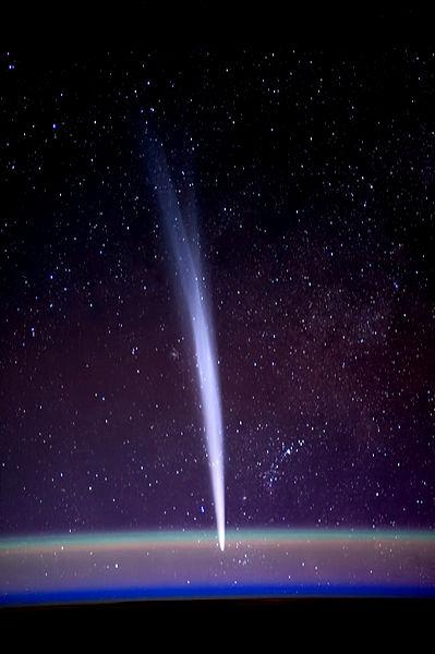 Наблюдение за кометами