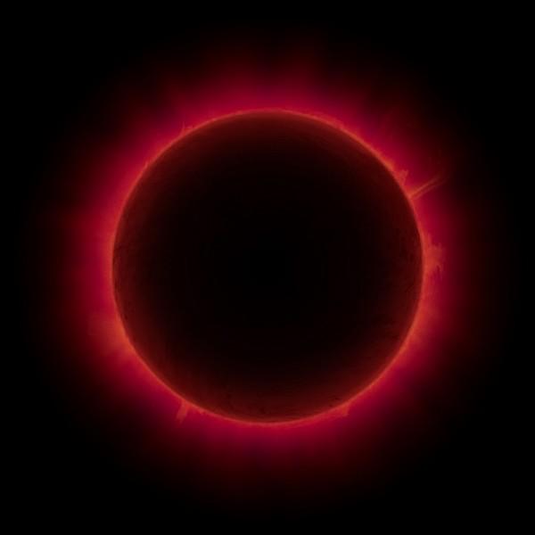 Затмение Луны и Солнца