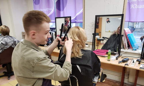 Обучение парикмахеров